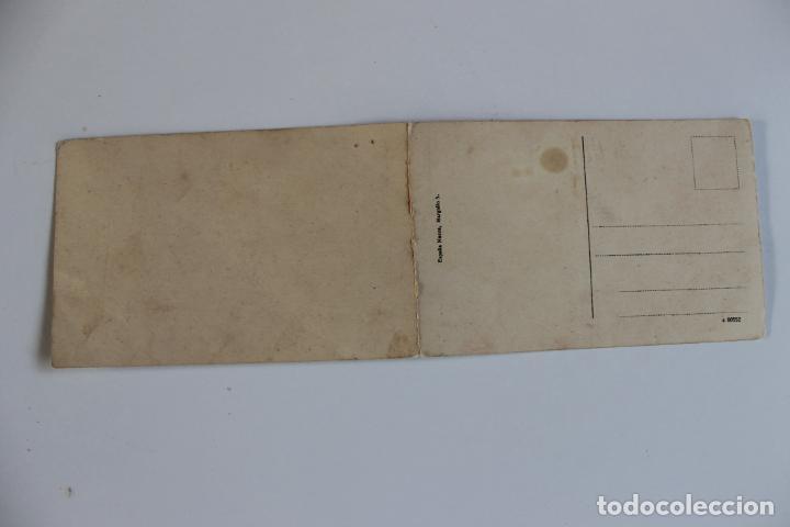 Postales: POSTAL DOBLE MELILLA. VISTA PANORAMICA DE LA PLAZA DE ESPAÑA, ESPAÑA NUEVA - Foto 3 - 253062945