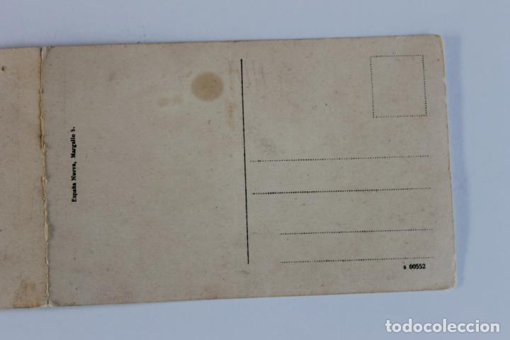 Postales: POSTAL DOBLE MELILLA. VISTA PANORAMICA DE LA PLAZA DE ESPAÑA, ESPAÑA NUEVA - Foto 4 - 253062945
