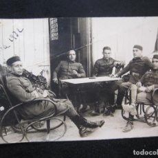 Postales: MELILLA-MILITARES-AÑO 1932-FOTOGRAFICA-POSTAL ANTIGUA-(79.733). Lote 254798730