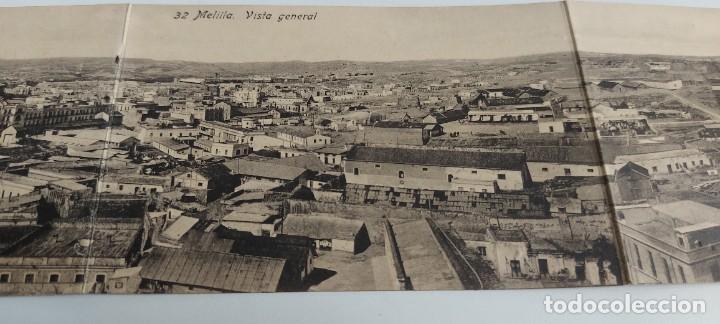 Postales: ANTIGUA Y PRECIOSA POSTAL CUÁDRUPLE DE MELILLA - VISTA GENERAL - EDICIÓN BOIX HERMANOS - NO CIRCULAD - Foto 2 - 261191880