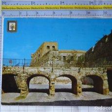 Postales: POSTAL DE MELILLA. AÑO 1965. PUENTE LEVADIZO DEL FOSO DE HORNABEQUE. 37 ESCUDO ORO. 935. Lote 262123785