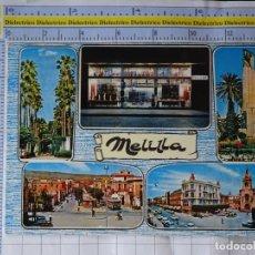 Postales: POSTAL DE MELILLA. AÑO 1968. PALACIO ORIENTAL PAGODA ARTÍCULOS DE REGALO. 940. Lote 262124505