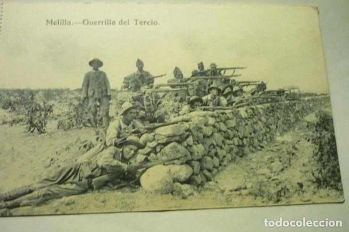 POSTAL MELILLA GUERRILLA DEL TERCIO (Postales - España - Melilla Antigua (hasta 1939))
