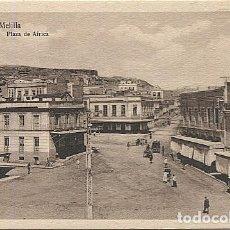 Postales: X125438 MELILLA PLAZA DE AFRICA. Lote 265191314