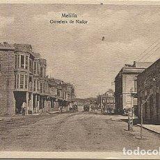 Postales: X125440 MELILLA CARRETERA DE NADOR. Lote 265192274