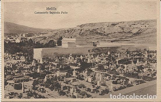 X125445 MELILLA CEMENTERIO SEGUNDO PATIO (Postales - España - Melilla Antigua (hasta 1939))