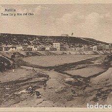 Postales: X125446 MELILLA VISTA DEL TESORILLO Y RIO DEL ORO. Lote 265197959