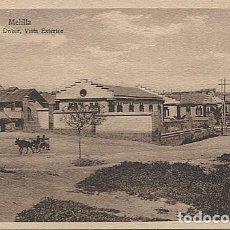 Postales: X125448 RARO MELILLA HOSPITAL DOKER VISTA EXTERIOR. Lote 265198514