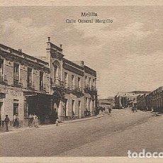 Postales: X125450 MELILLA CALLE GENERAL MARGALLO. Lote 265199209