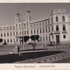 Postais: MELILLA PALACIO MUNICIPAL. ED. FOTO IMPERIO Nº 9. SIN CIRCULAR. Lote 265216854