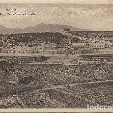 Postales: X125455 RARO MELILLA VISTA DEL TESORILLO Y FUERTE CAMELLO. Lote 265779214