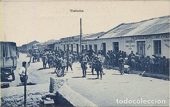 X125477 CERCA DE MELILLA MARRUECOS TISTUTIN (Postales - España - Melilla Antigua (hasta 1939))