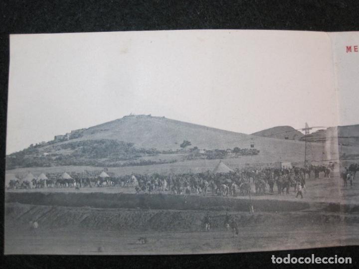 Postales: MELILLA-VISTA GENERAL DEL AVANZAMIENTO O SAN JUAN DE LAS MINAS-POSTAL TRIPLE ANTIGUA-(81.252) - Foto 2 - 266927264