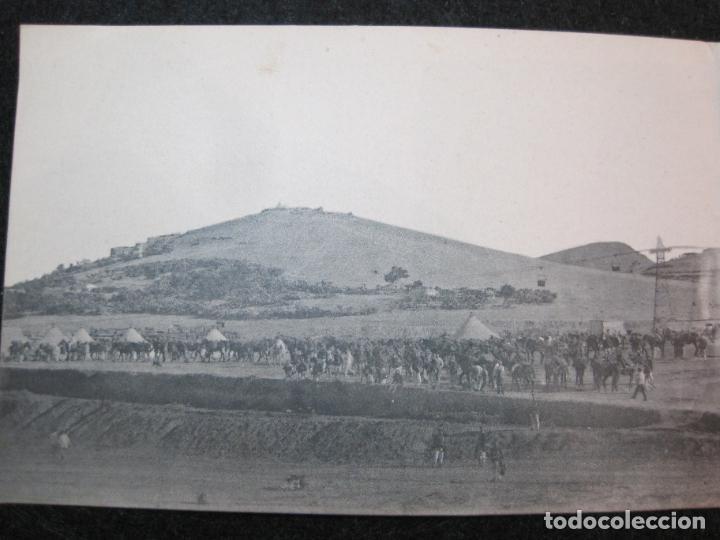 Postales: MELILLA-VISTA GENERAL DEL AVANZAMIENTO O SAN JUAN DE LAS MINAS-POSTAL TRIPLE ANTIGUA-(81.252) - Foto 3 - 266927264