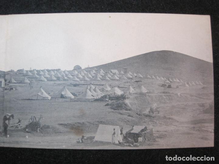 Postales: MELILLA-VISTA GENERAL DEL AVANZAMIENTO O SAN JUAN DE LAS MINAS-POSTAL TRIPLE ANTIGUA-(81.252) - Foto 5 - 266927264