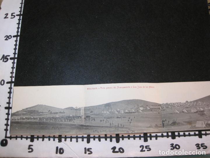 Postales: MELILLA-VISTA GENERAL DEL AVANZAMIENTO O SAN JUAN DE LAS MINAS-POSTAL TRIPLE ANTIGUA-(81.252) - Foto 9 - 266927264