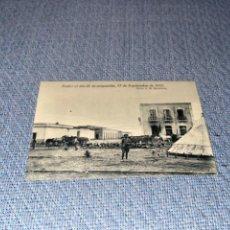 Postales: FOTOGRAFIA POSTAL - NADOR EL DIA DE SU OCUPACION POR LAS TROPAS ESPAÑOLAS 1921 - GUERRA DE AFRICA. Lote 267715389
