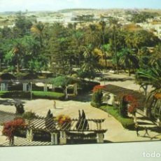 Postales: POSTAL MELILLA PARQUE HERNANDEZ DETALLE. Lote 268914744