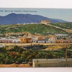 Postales: MELILLA - BARRIO DEL TESORILLO Y FUERTE CAMELLOS - LAXC - P52111. Lote 269262303