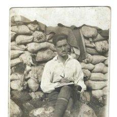 Postales: ANTIGUA POSTAL- MELILLA.- OTERO. TRINCHERA. GUERRA DEL RIF. ESCRITA- 1922. Lote 269941598