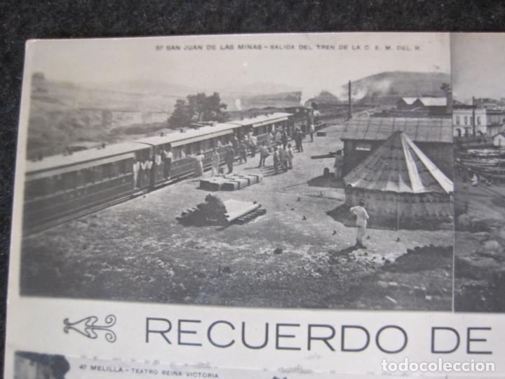 Postales: MELILLA-FERROCARRIL-PUERTO-TEATRO-ED·BOIX HERMANOS-FOTOGRAFICA-POSTAL ANTIGUA-(82.065) - Foto 3 - 272289348