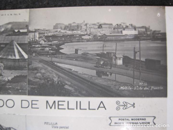 Postales: MELILLA-FERROCARRIL-PUERTO-TEATRO-ED·BOIX HERMANOS-FOTOGRAFICA-POSTAL ANTIGUA-(82.065) - Foto 4 - 272289348