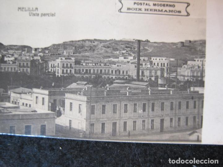 Postales: MELILLA-FERROCARRIL-PUERTO-TEATRO-ED·BOIX HERMANOS-FOTOGRAFICA-POSTAL ANTIGUA-(82.065) - Foto 5 - 272289348
