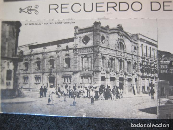 Postales: MELILLA-FERROCARRIL-PUERTO-TEATRO-ED·BOIX HERMANOS-FOTOGRAFICA-POSTAL ANTIGUA-(82.065) - Foto 6 - 272289348