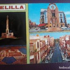 Postales: RECUERDO DE MELILLA - 1973. Lote 275799623