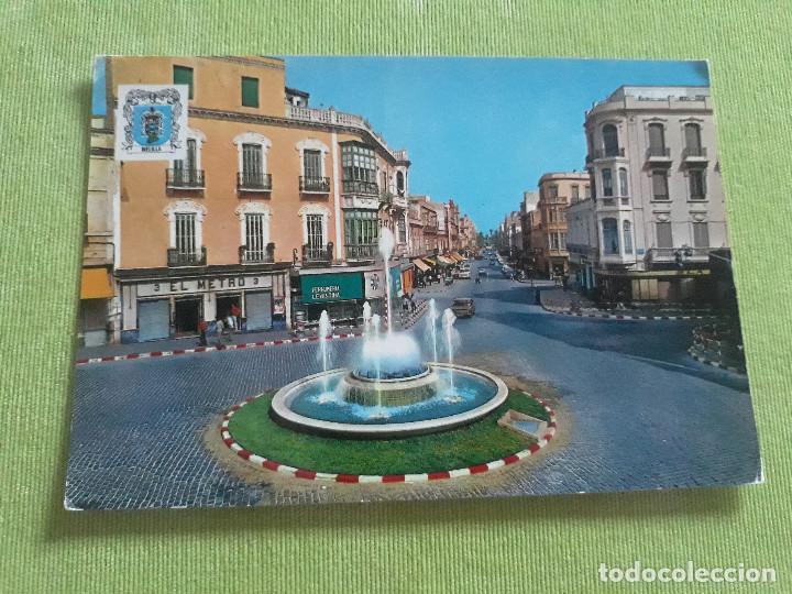 MELILLA - Nº 1303 - PLAZA COMTE. BENITEZ - FUENTE LUMINOSA - AÑO 1971 (Postales - España - Melilla Moderna (desde 1940))