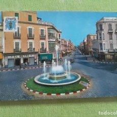 Postales: MELILLA - Nº 1303 - PLAZA COMTE. BENITEZ - FUENTE LUMINOSA - AÑO 1971. Lote 275983773