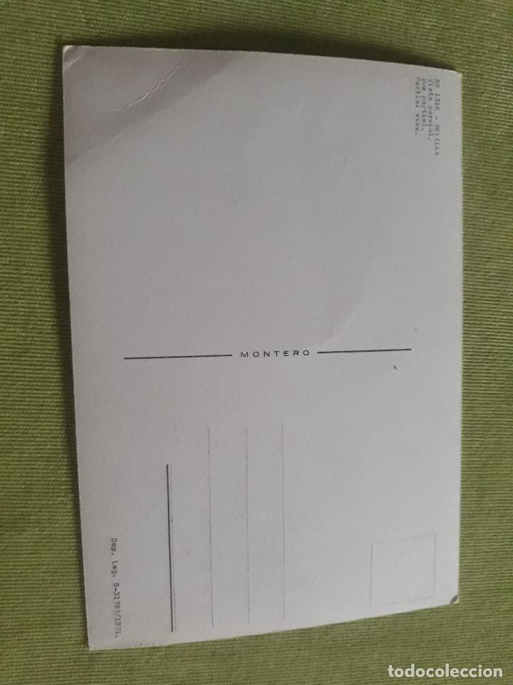 Postales: Melilla - Nº 1316 - Vista parcial - Año 1971 - Foto 2 - 275983923