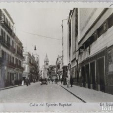 Postales: MELILLA CALLE DEL EJERCITO ESPAÑOL ED. BOIX HERMANOS. Lote 276612483