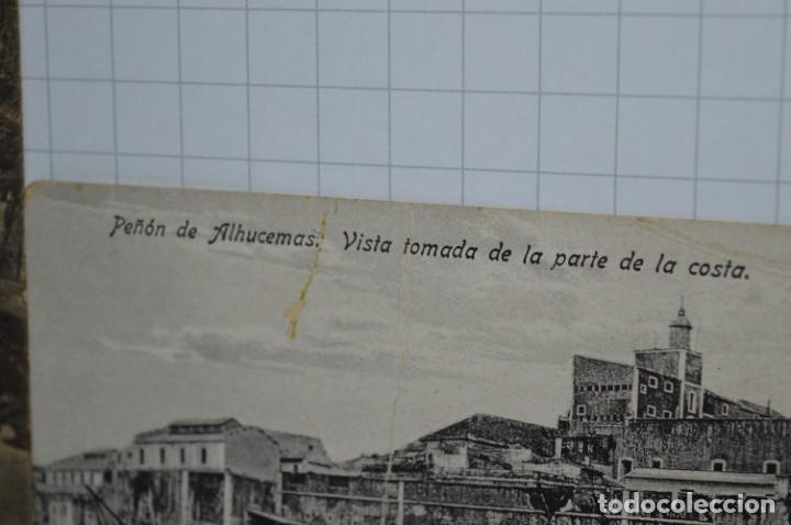 Postales: 6 Antiguas / DIFÍCILES POSTALES SIN CIRCULAR - Melilla y Peñón de Alhucemas ¡Mira detalles! - Foto 4 - 276949478
