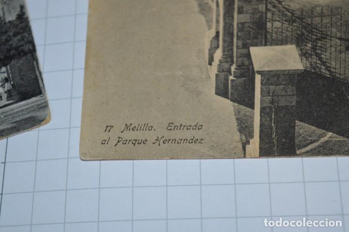 Postales: 6 Antiguas / DIFÍCILES POSTALES SIN CIRCULAR - Melilla y Peñón de Alhucemas ¡Mira detalles! - Foto 6 - 276949478