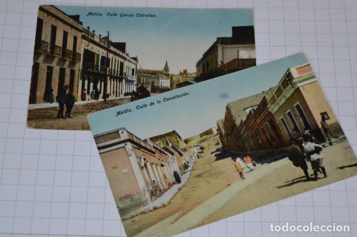 Postales: 6 Antiguas / DIFÍCILES POSTALES SIN CIRCULAR - Melilla y Peñón de Alhucemas ¡Mira detalles! - Foto 9 - 276949478