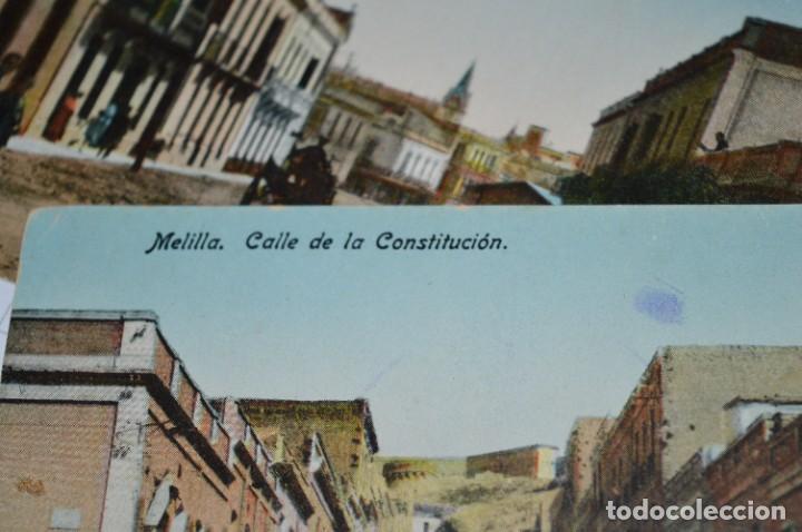 Postales: 6 Antiguas / DIFÍCILES POSTALES SIN CIRCULAR - Melilla y Peñón de Alhucemas ¡Mira detalles! - Foto 10 - 276949478