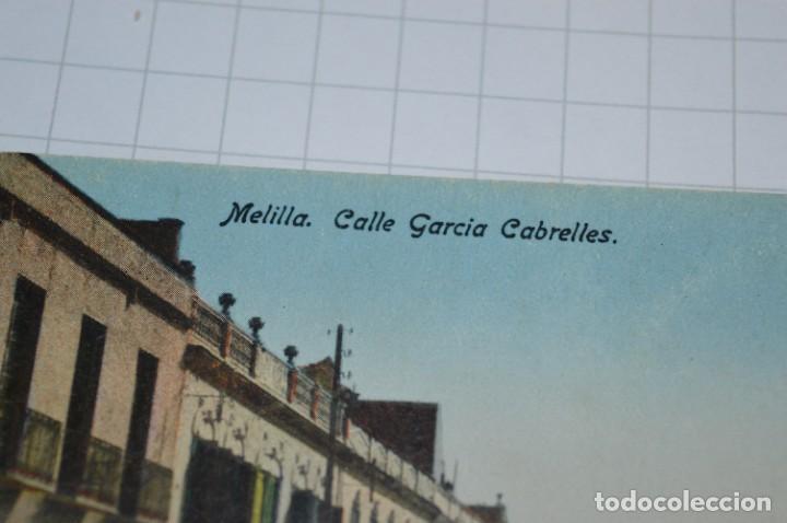 Postales: 6 Antiguas / DIFÍCILES POSTALES SIN CIRCULAR - Melilla y Peñón de Alhucemas ¡Mira detalles! - Foto 11 - 276949478