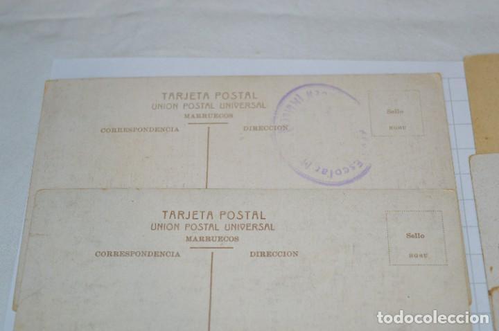 Postales: 6 Antiguas / DIFÍCILES POSTALES SIN CIRCULAR - Melilla y Peñón de Alhucemas ¡Mira detalles! - Foto 13 - 276949478