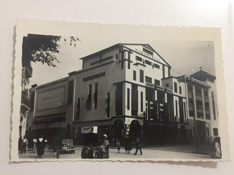 MELILLA - CINE MONUMENTAL Y HOTEL RUSADIR - Nº 13 ED. RAFAEL BOIX (Postales - España - Melilla Moderna (desde 1940))