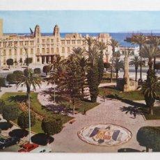 Cartoline: MELILLA - PLAZA DE ESPAÑA Y AYUNTAMIENTO - LAXC - P58050. Lote 278386618