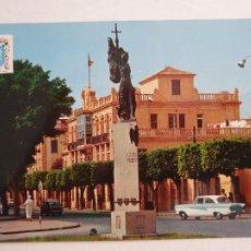 Postales: MELILLA - PLAZA TORRES QUEVEDO - MONUMENTO A ISABEL LA CATÓLICA - LAXC - P58060. Lote 278389918