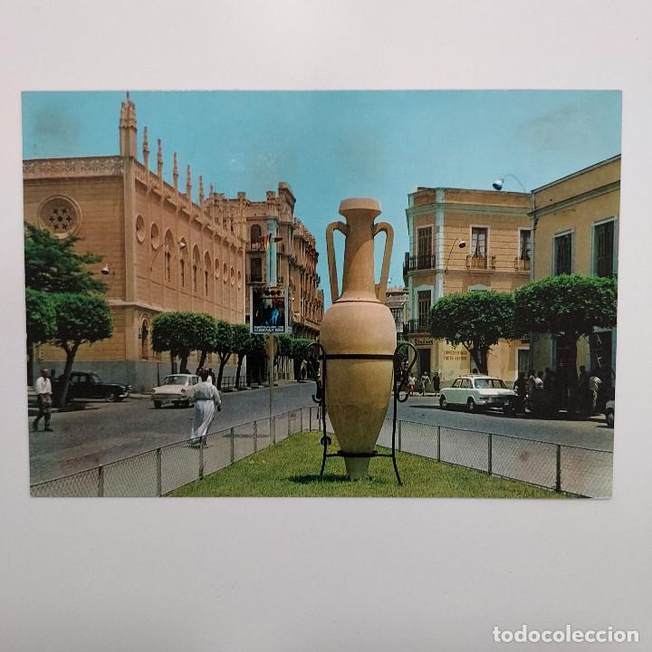 POSTAL MELILLA. PLAZA TORRES QUEVEDO (MELILLA) ESCRITA 1969. Nº 1570 BEASCOA. RARA (Postales - España - Melilla Moderna (desde 1940))