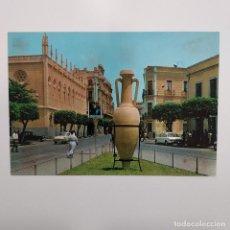 Postales: POSTAL MELILLA. PLAZA TORRES QUEVEDO (MELILLA) ESCRITA 1969. Nº 1570 BEASCOA. RARA. Lote 278608393