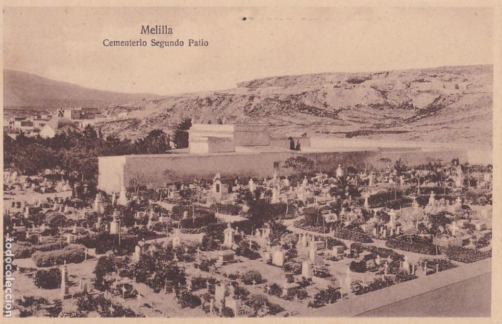 MELILLA, EMENTERIO SEGUNDO PATIO. ED. ESPAÑA NUEVA. SIN CIRCULAR (Postales - España - Melilla Antigua (hasta 1939))