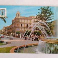 Postales: POSTAL MELILLA PLAZA ESPAÑA AVD. GENERALISIMO RV 209. Lote 286146828