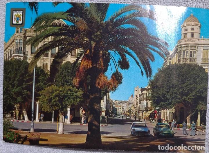 ANTIGUA POSTAL DE MELILLA, AÑO 1971 // CÁDIZ CEUTA TENERIFE CÓRDOBA SEVILLA MARBELLA MÁLAGA VALENCIA (Postales - España - Melilla Moderna (desde 1940))