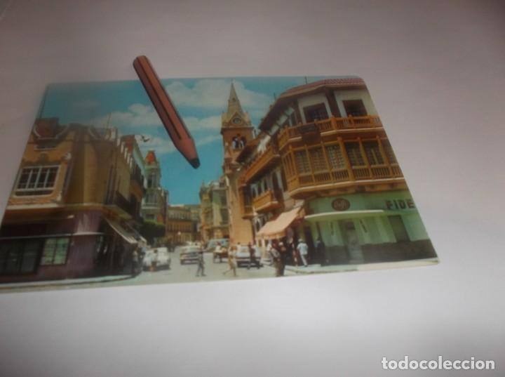 POSTAL AÑO 1967 - MELILLA - CALLES EJÉRCITO ESPAÑOL Y LÓPEZ MORENO ,ESCRITA CON SELLO 1.50 PTAS (Postales - España - Melilla Moderna (desde 1940))