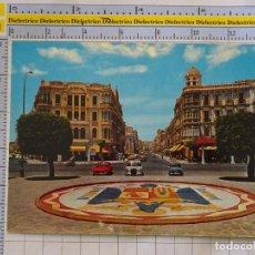 Postales: POSTAL DE MELILLA. AÑO 1970. AVENIDA DEL GENERALÍSIMO. SEAT 600 MERCEDES. 1610 BEASCOA. 974. Lote 289819178