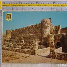 Postales: POSTAL DE MELILLA. AÑO 1967. PUERTA DE SANTIAGO Y MURALLA REAL. ESCUDO ORO. 976. Lote 289819368
